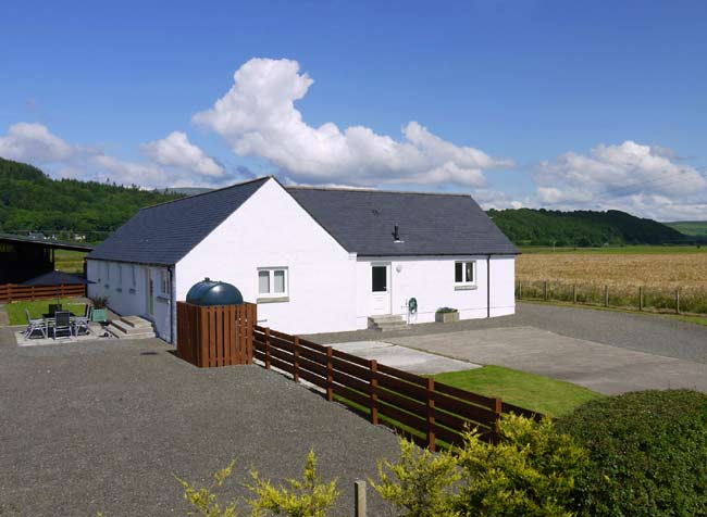 Near Newton Stewart Wigtownshire Kirroughtree Cottage
