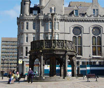 The Aberdeen Mercat Cross