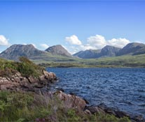 Looking over Ben Mor Coigach