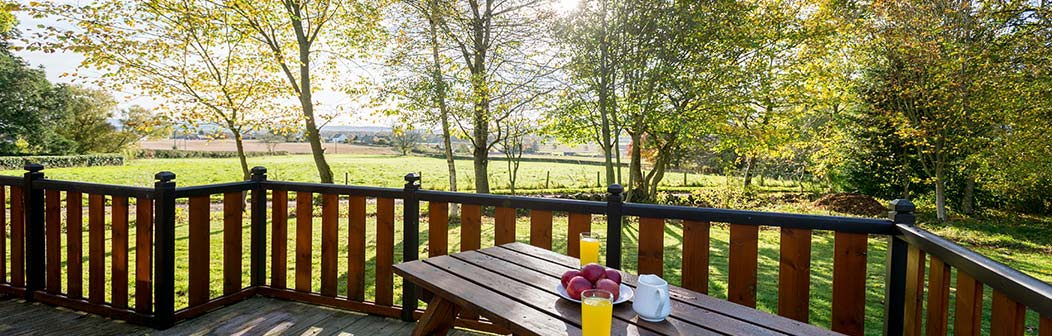 View from Baincraig Lodge