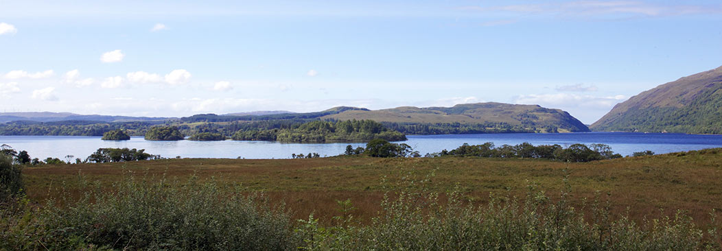 Nearby Loch Awe