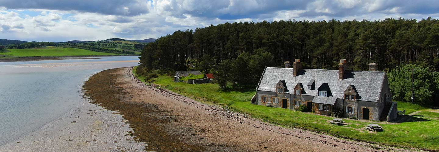The Old Granary, Loch Fleet