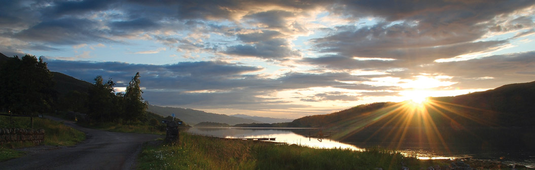 Loch Sunart sunset