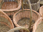 Basket making at Seafield Farm