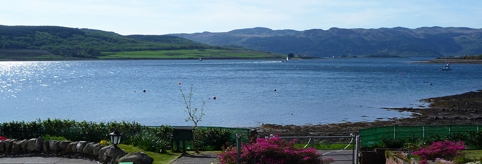 View from Bonahaven