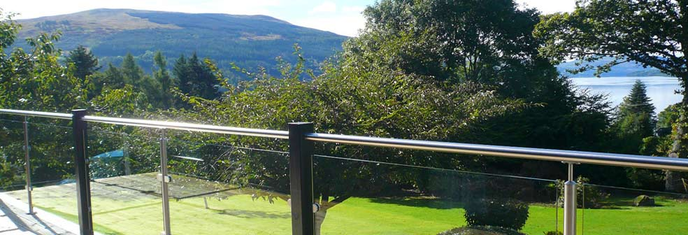 View from Braeside Cottage