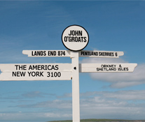John O' Groats Sign Post