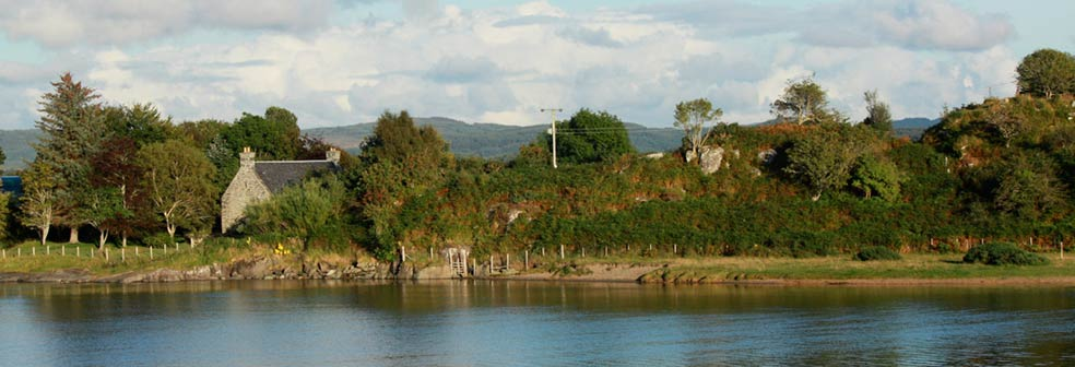 Viewe over to Crinan House
