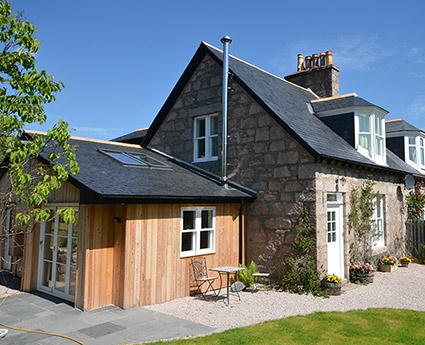 Airlie House Cottage Aberdeenshire Unique Cottages