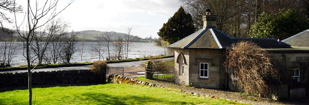 Inchrye Lodge & Loch Lindores