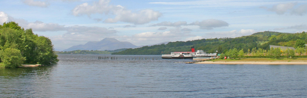 Cruises on nearby Loch Lomond