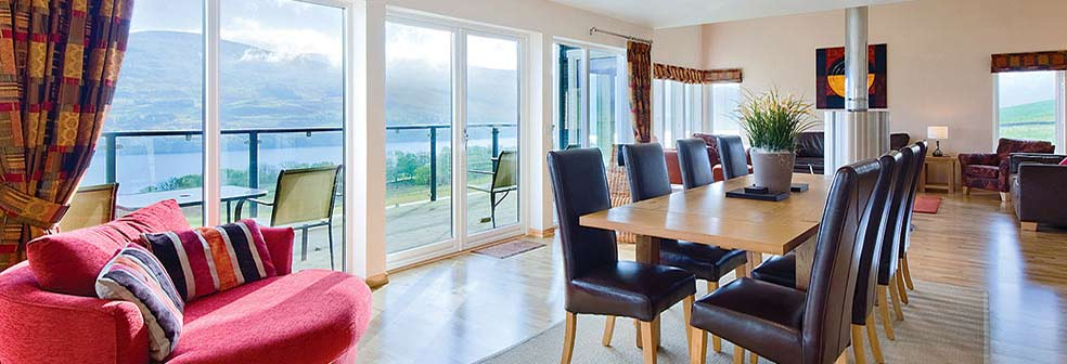 Loch Tay House Dining area