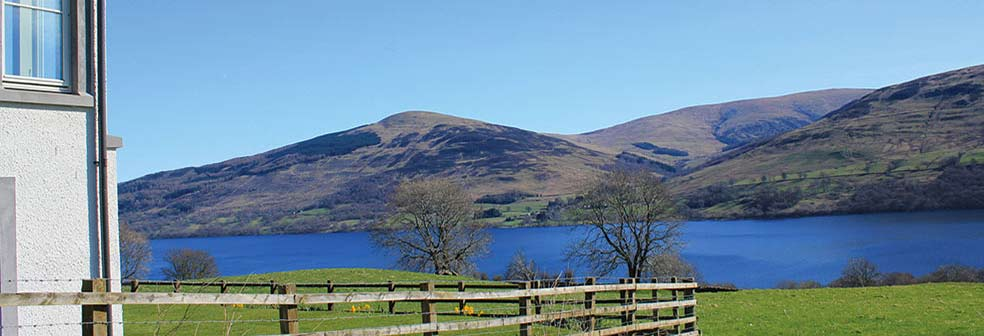 View from Loch Tay House