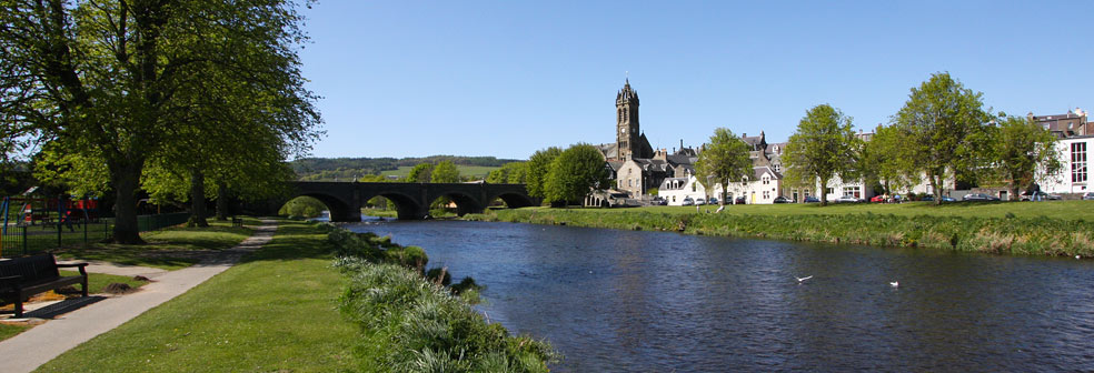Peebles & River Tweed