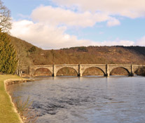 Bridge over River Tay at Dunkeld