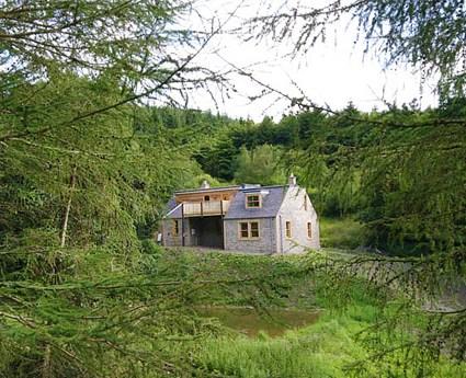 Phaup cottage the scottish borders unique cottages for Unique holiday cottages