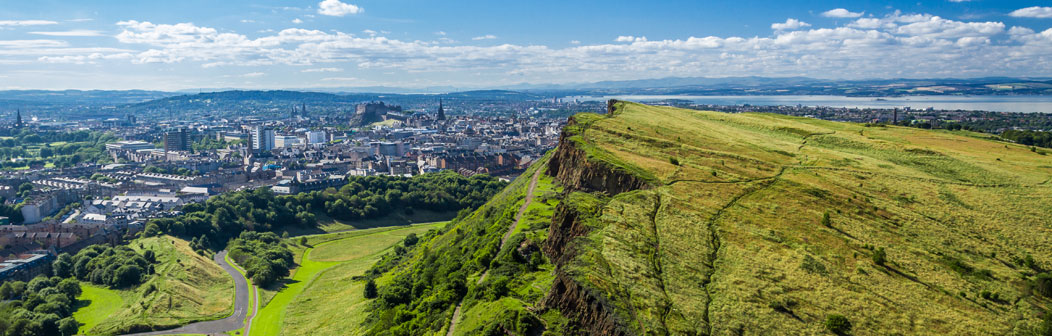 View of Edinburgh from Arthur's Seat