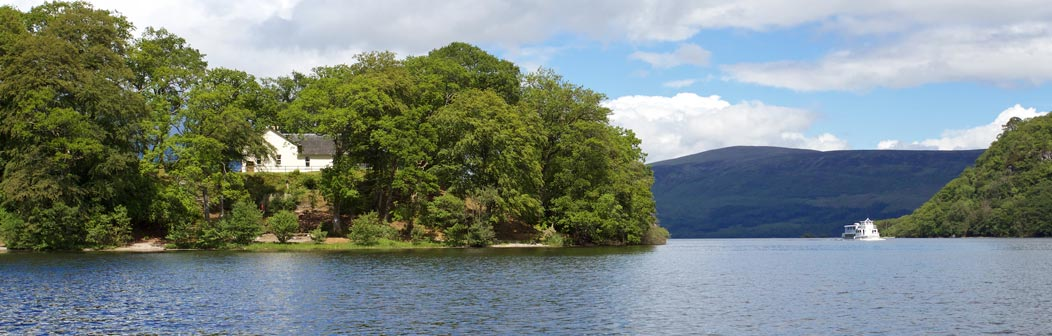Rossarden from Loch Lomond