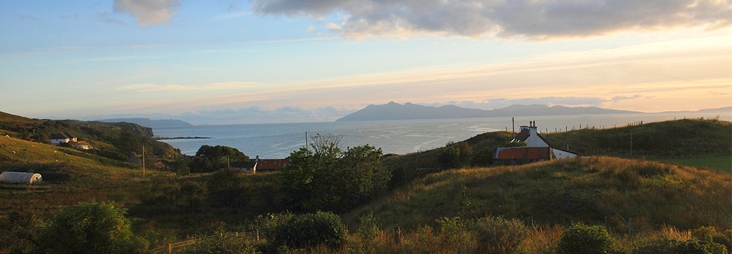 View from Sea Croft Isle of Skye