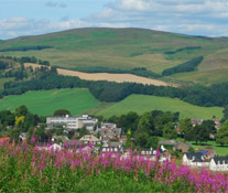 Selkirk Nestled in the Hills