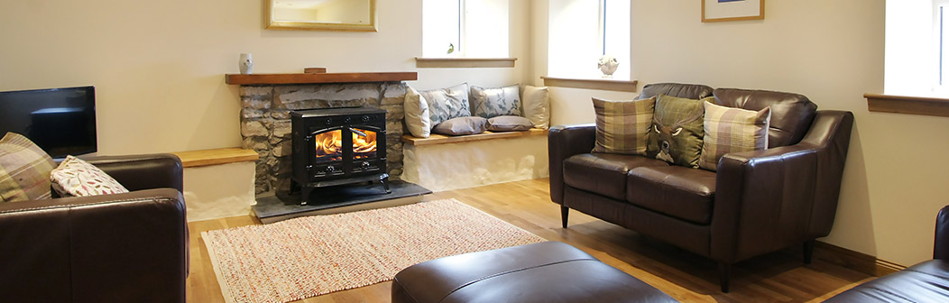 Sitting room at Tigh Na Clachan