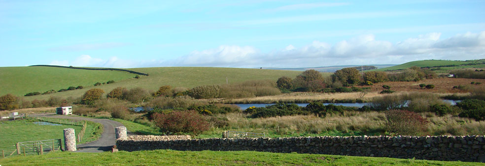 View from South Airies Farmhouse