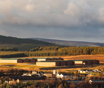 One of the Area's Distilleries