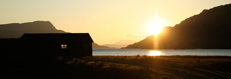 Sunswet from The Bothy/Old Schoolhouse