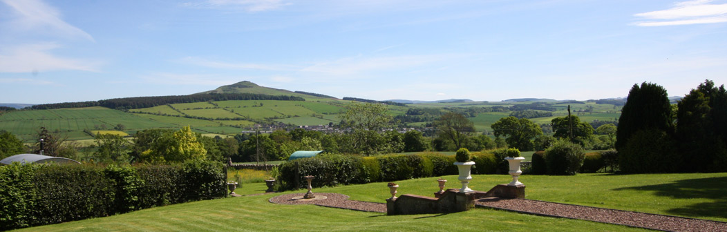 View of Rubislaw from Garden