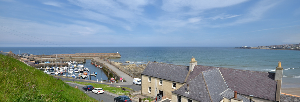 View of Harbour from Seaside Cottage