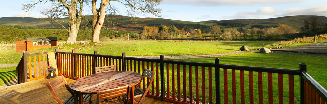 View from Whitehills Lodge